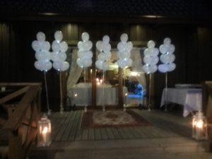 Helio baliobai vestuvėms, krikštynoms, gimtadieniams